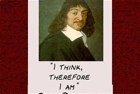 Think therefore am essay