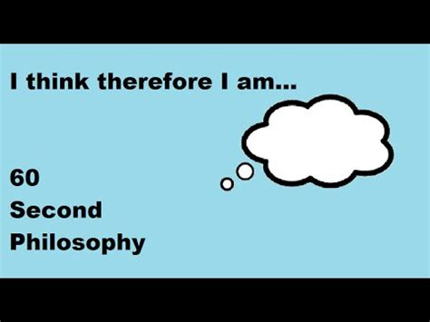 I think therefore i am essay - Proposal, CV & Dissertation